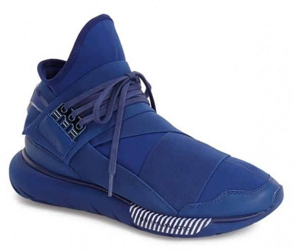 adidas y3 qasa high all blue