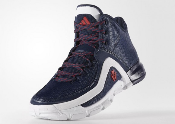 A Detailed Look at The adidas J Wall 2 in Navy: White 1