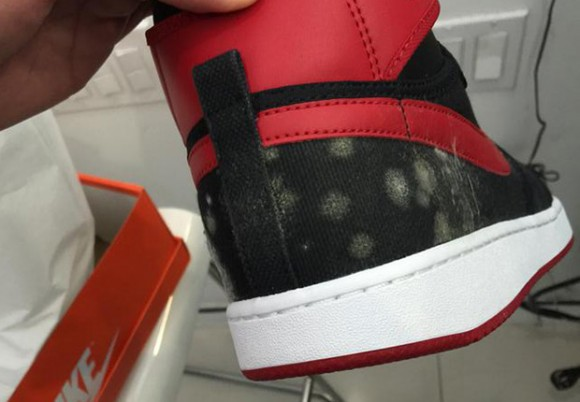 Air Jordan 1 KO 'Bred' Release Is Cancelled Because of Quality Issues 4