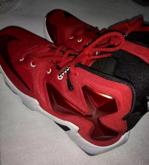 Check out the Nike LeBron 13 in Red 2