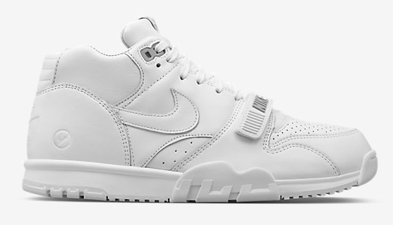 Fragment x Nike Air Trainer 1 Mid 'White'