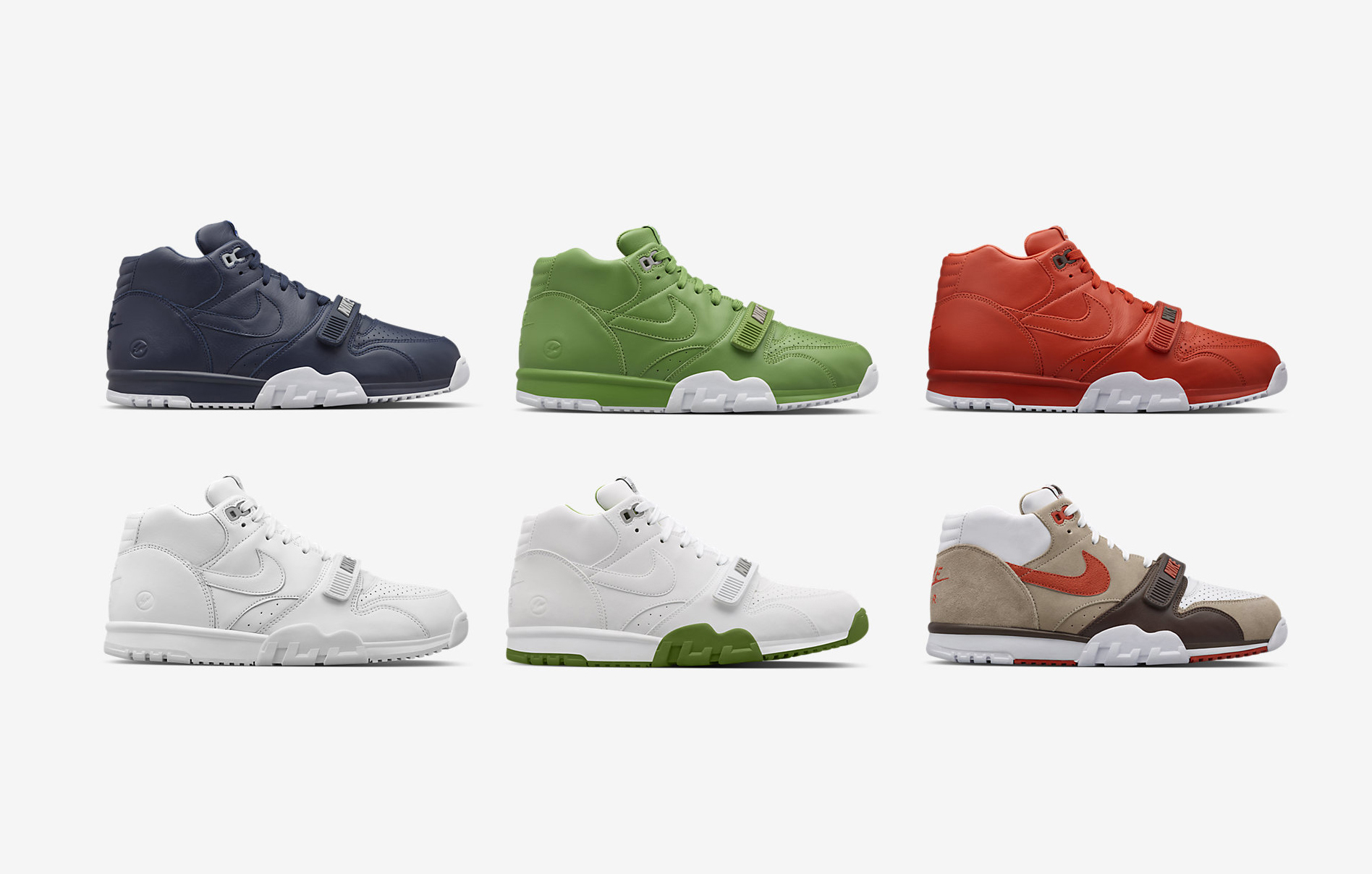 Fragment x Nike Air Trainer 1 Mid all six