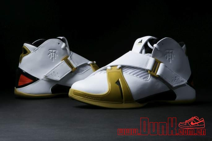 Get Up Close And Personal With The White: Gold adidas T-MAC 5 Retro 1