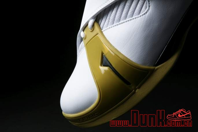 Get Up Close And Personal With The White: Gold adidas T-MAC 5 Retro 6