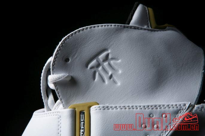 Get Up Close And Personal With The White: Gold adidas T-MAC 5 Retro 7