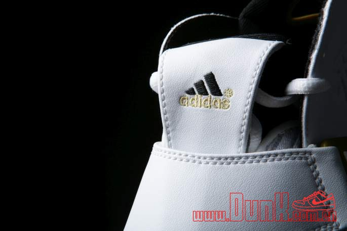 Get Up Close And Personal With The White: Gold adidas T-MAC 5 Retro 8
