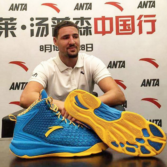 Get Your First Look at Klay Thompson's First Signature Model With ANTA-1