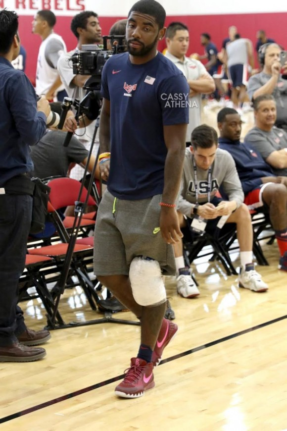 Kyrie Irving Wore This NIKEiD Creation at Team USA Mini Camp 1