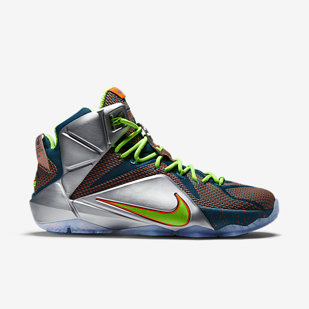 LeBron 12 (one colorway) -