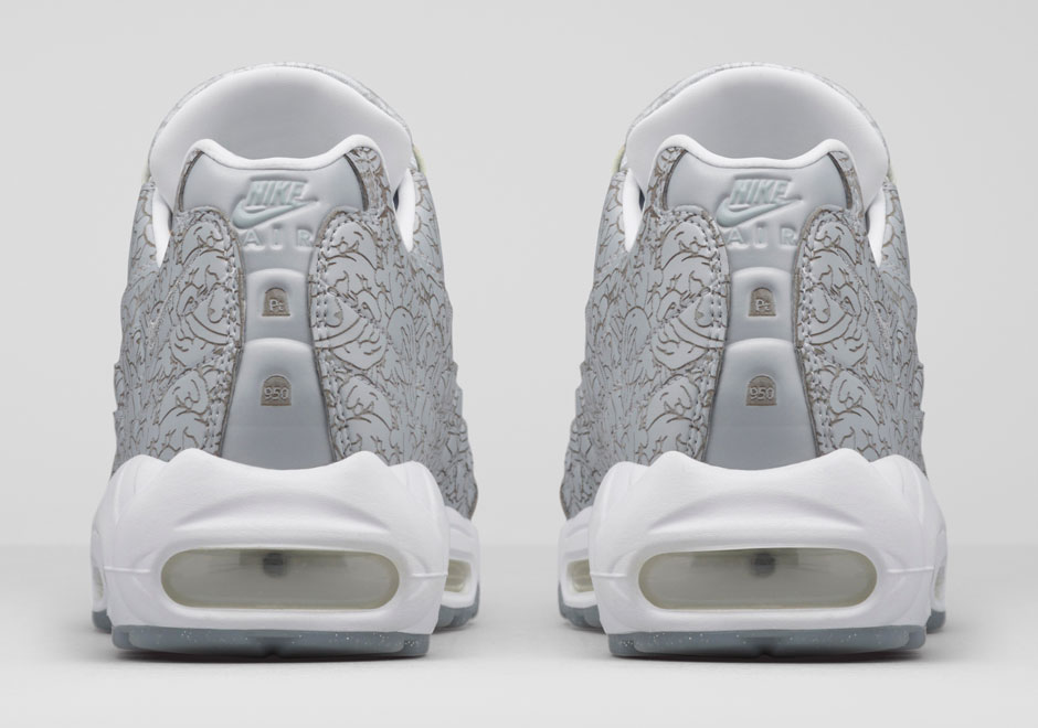 Nike Air Max 95 'Platinum Anniversary Pack' jewelry heel