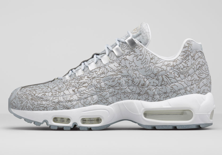 Nike Air Max 95 'Platinum Anniversary Pack' jewelry lateral