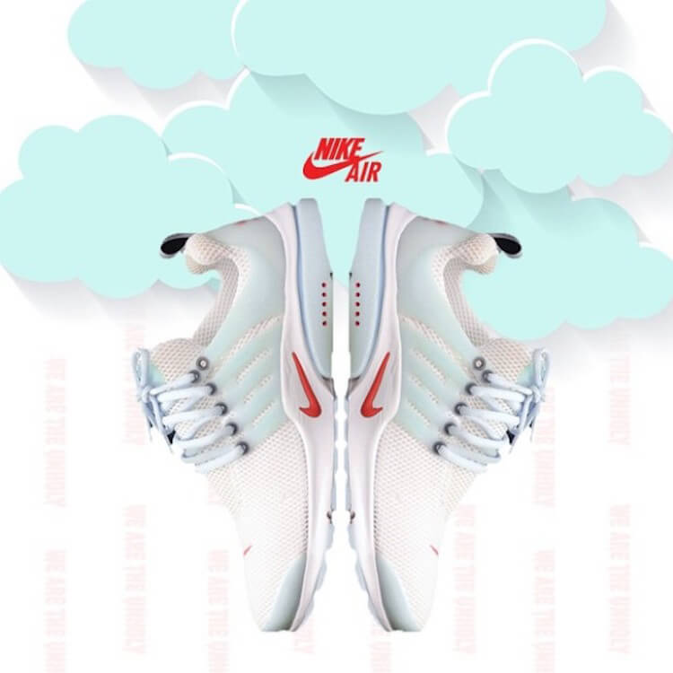 Nike Air Presto 'Unholy Cumulus'