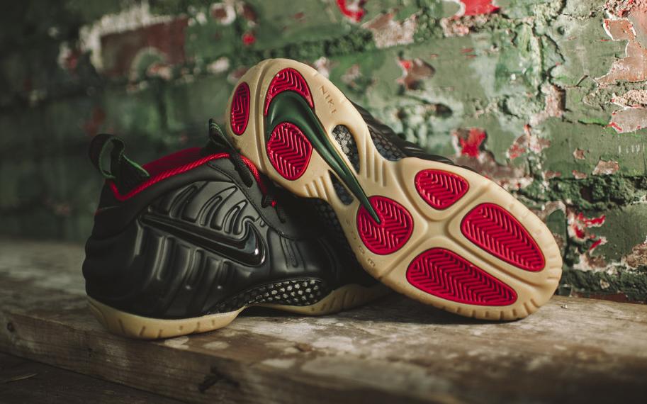Nike Foamposite Pro 'Gucci' outsole