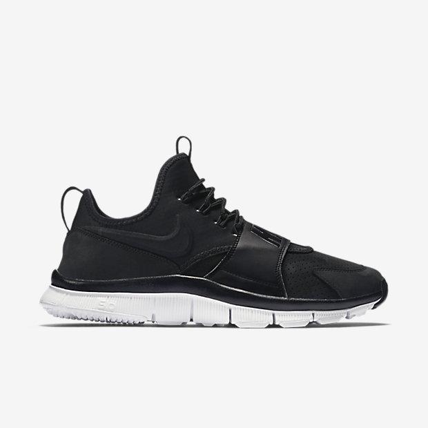 Nike Free Ace Leather black white