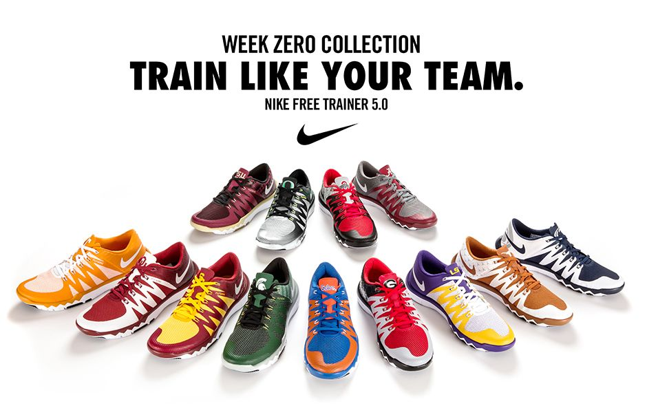 Nike Free Trainer 5.0 V6 'Week Zero' Collection