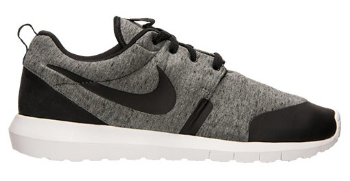Nike Roshe Run grey tech fleece