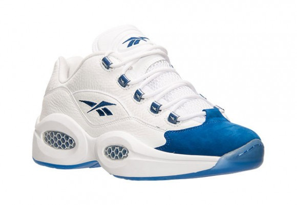 Reebok Question Low White Blue 1