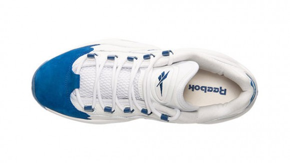 Reebok Question Low White Blue 5