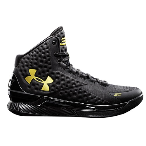 This Black: Gold Under Armour Curry One Drops Next Week