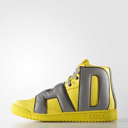 adidas Letters Reflective Core Yellow lateral