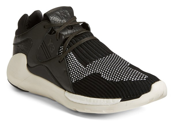 adidas Y-3 QR Primeknit black and white