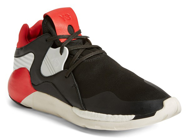 adidas Y-3 QR Primeknit red and black