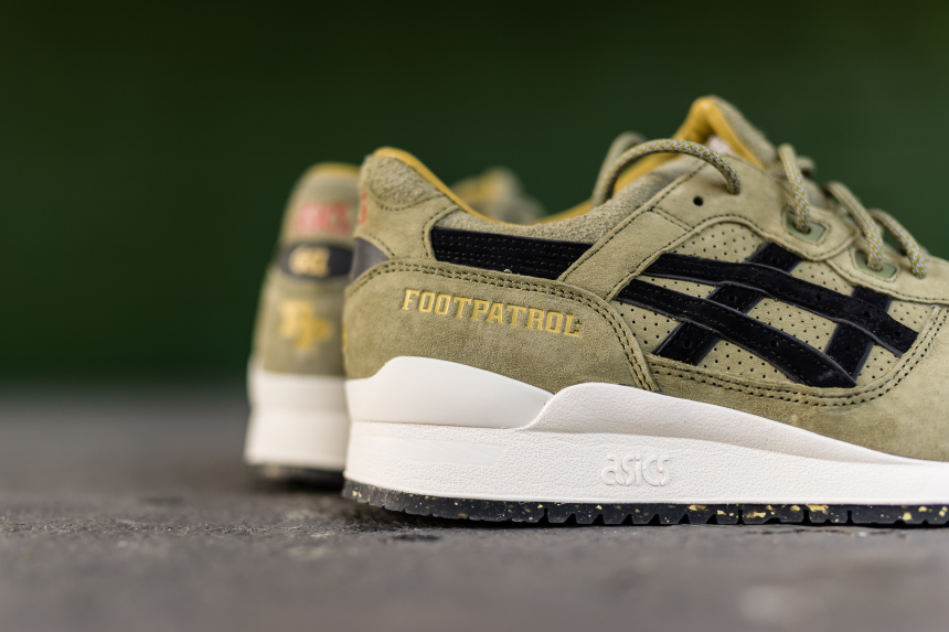 sale retailer cd5ff 73bf4 Footpatrol x Asics Gel-Lyte III 'Squad' - WearTesters