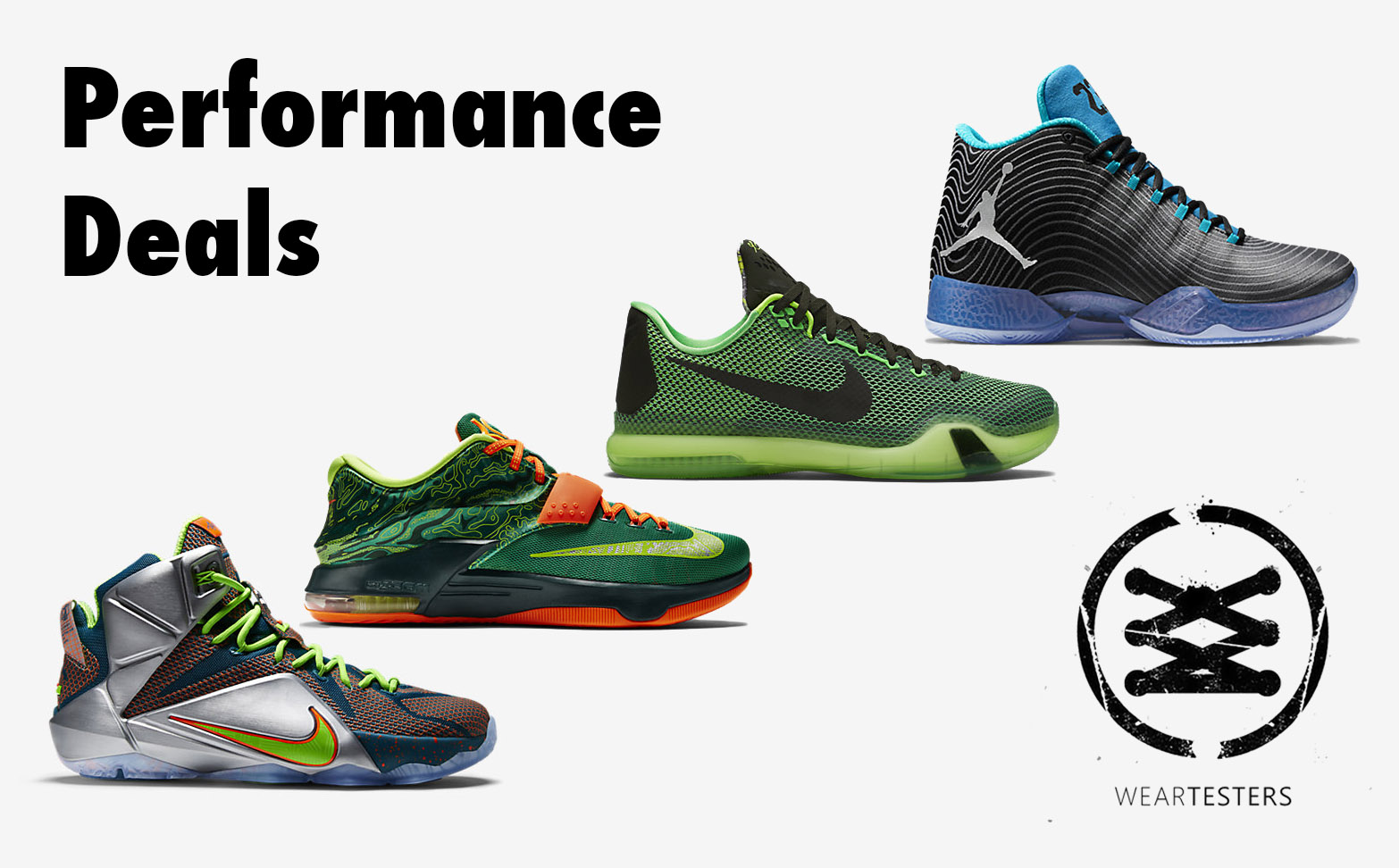 performance deals weartesters nike 20 off