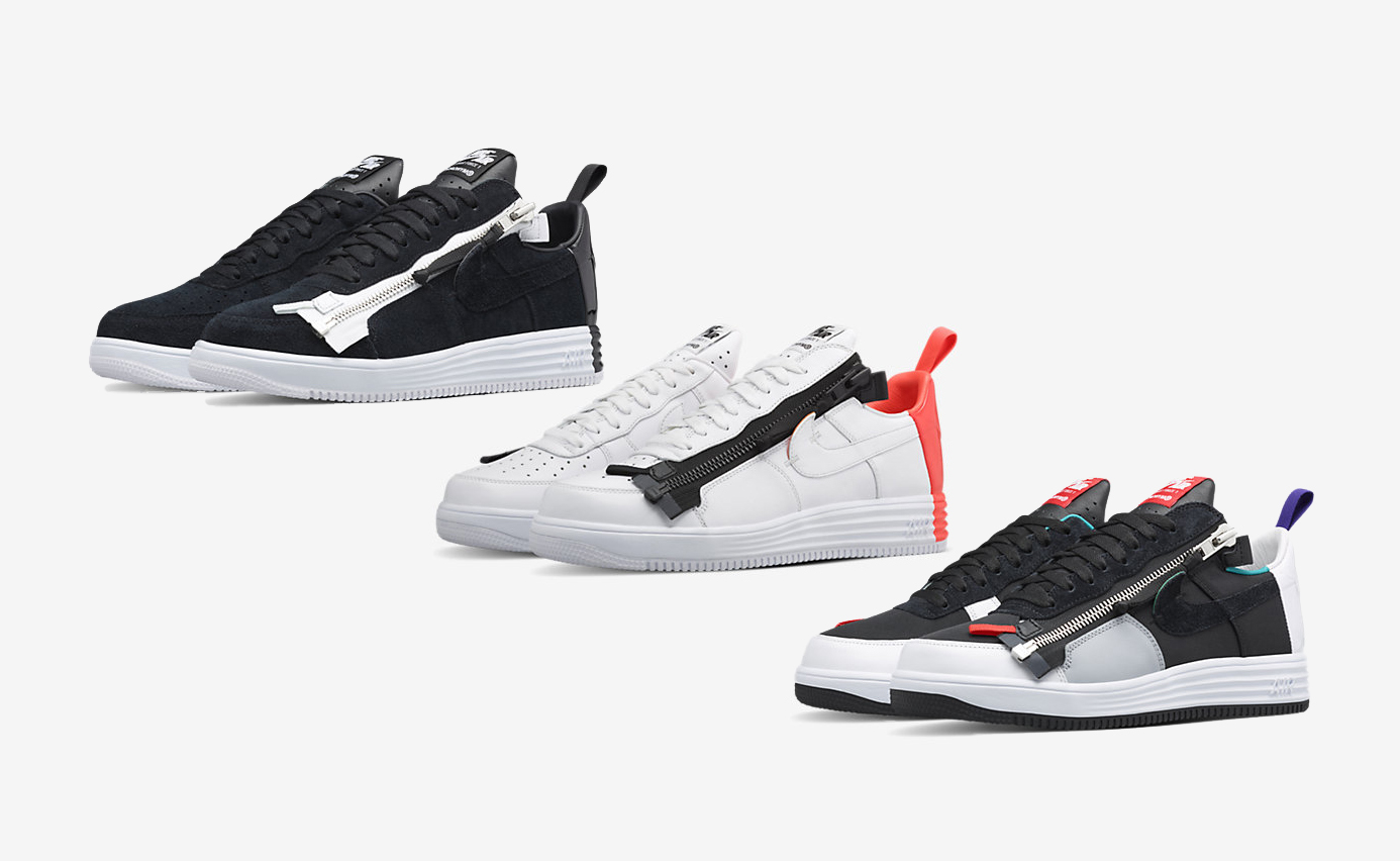 Acronym Nike Lunar Force 1 SP colorways