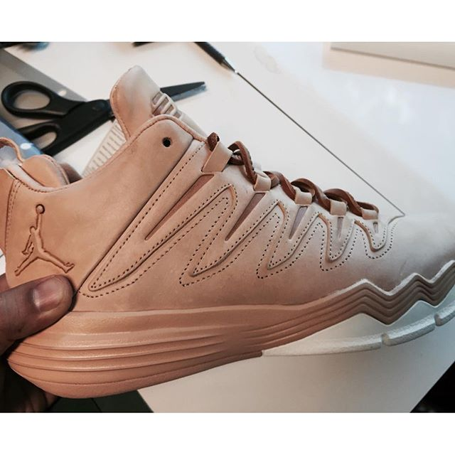 Chris Paul Jordan CP3.IX vegetable tanned leather hender scheme