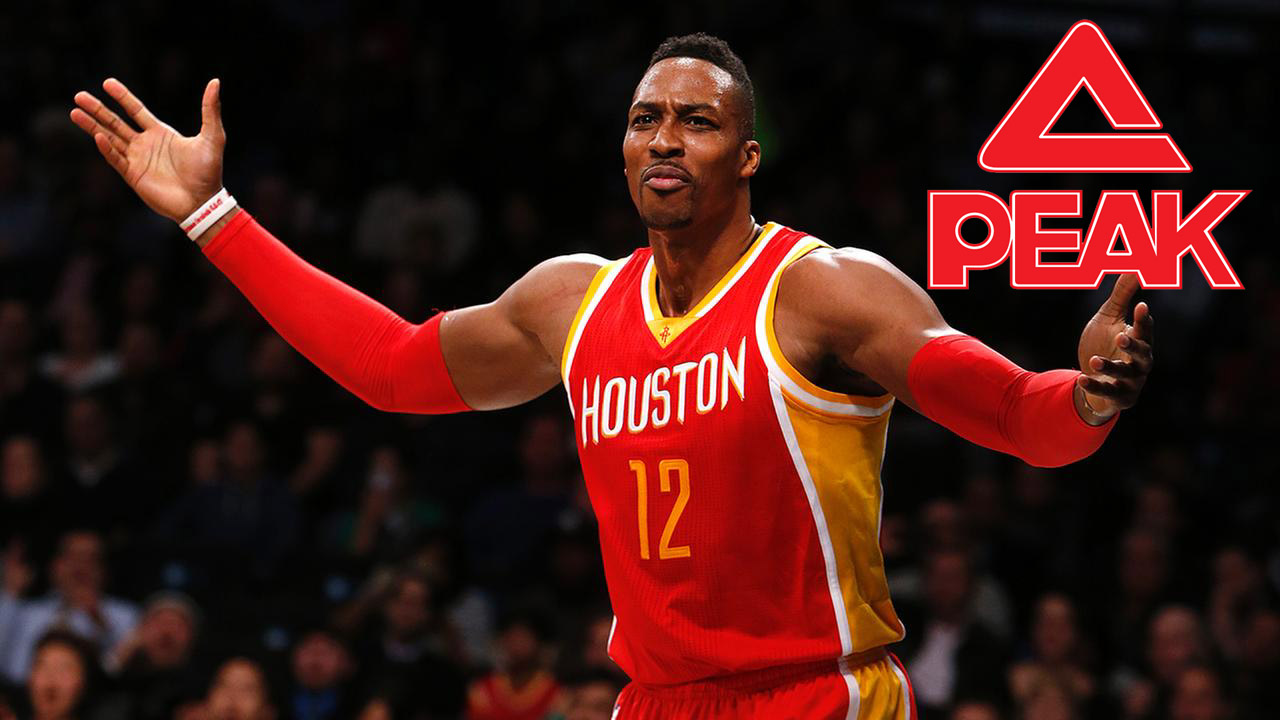 Dwight Howard Officially Joins PEAK