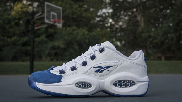 Get a Detailed Look at the 'Blue Toe' Reebok Question Low 5