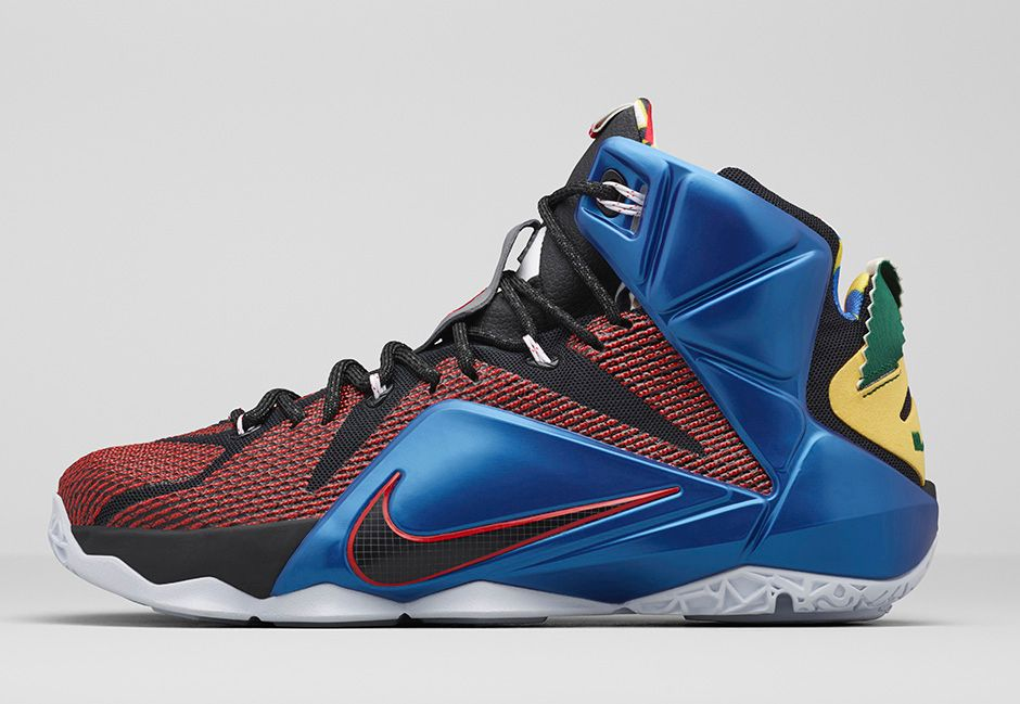 Get an Official Look at the Nike LeBron 12 'What The' 1