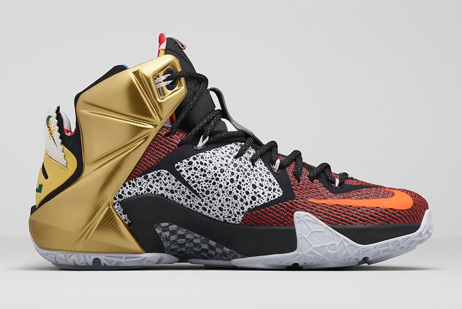 Get an Official Look at the Nike LeBron 12 'What The' 2