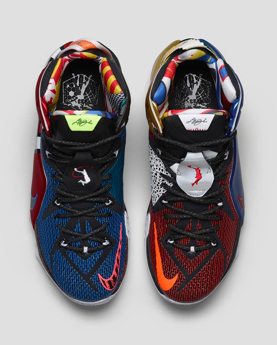 Get an Official Look at the Nike LeBron 12 'What The' 3