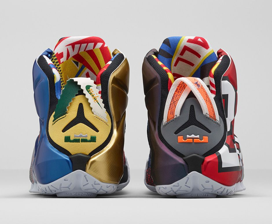 Get an Official Look at the Nike LeBron 12 'What The' 4