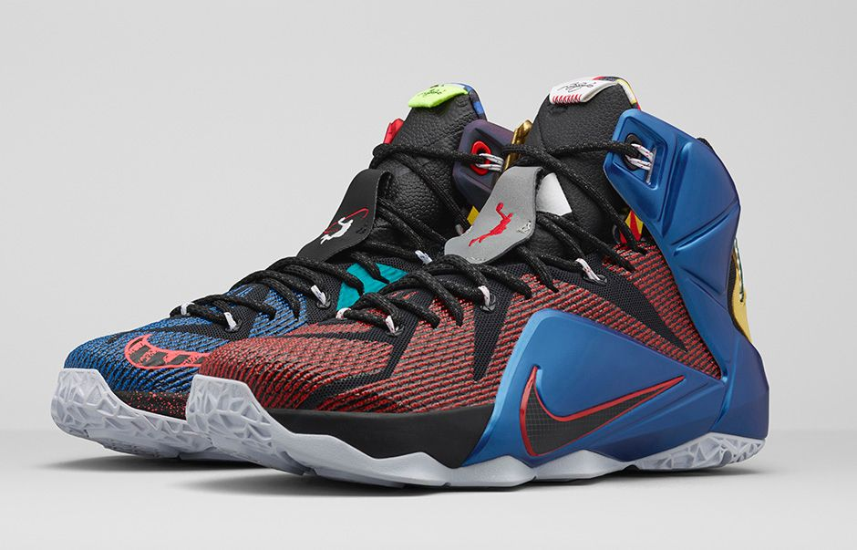 Get an Official Look at the Nike LeBron 12 'What The' 6