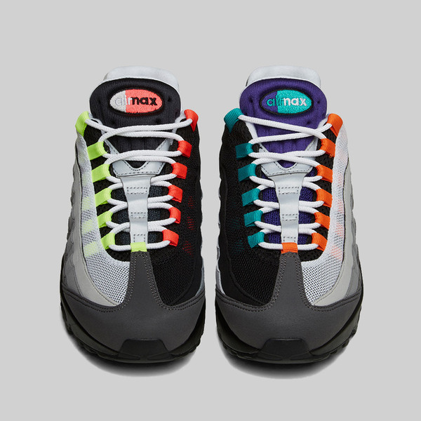 Nike Air Max 95 Greedy front view