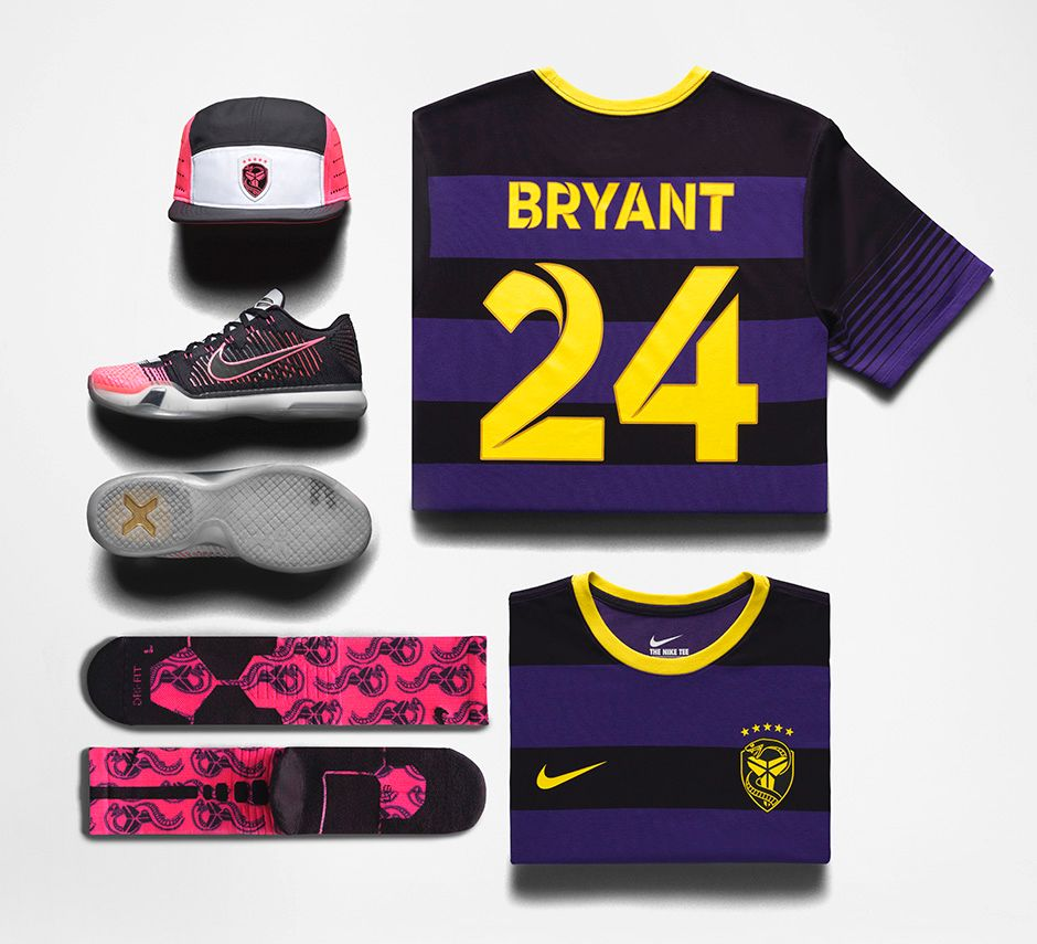 Nike Kobe X Elite 'Mambacurial' apparel