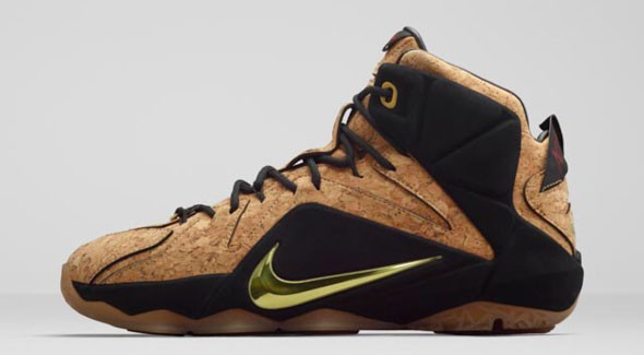 Nike LeBron 12 EXT 'King's Cork' lateral
