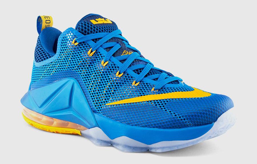 Nike LeBron 12 Low entourage blue