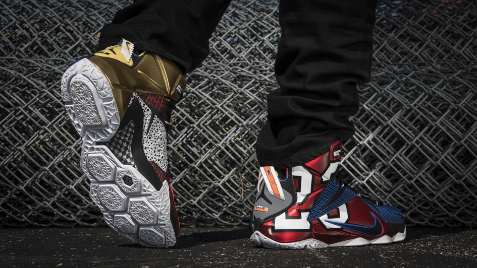 Nike LeBron 12 'What The' 1