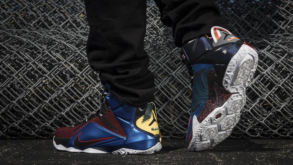 Nike LeBron 12 'What The' 2