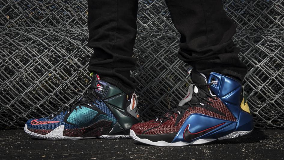 Nike LeBron 12 'What The' 4