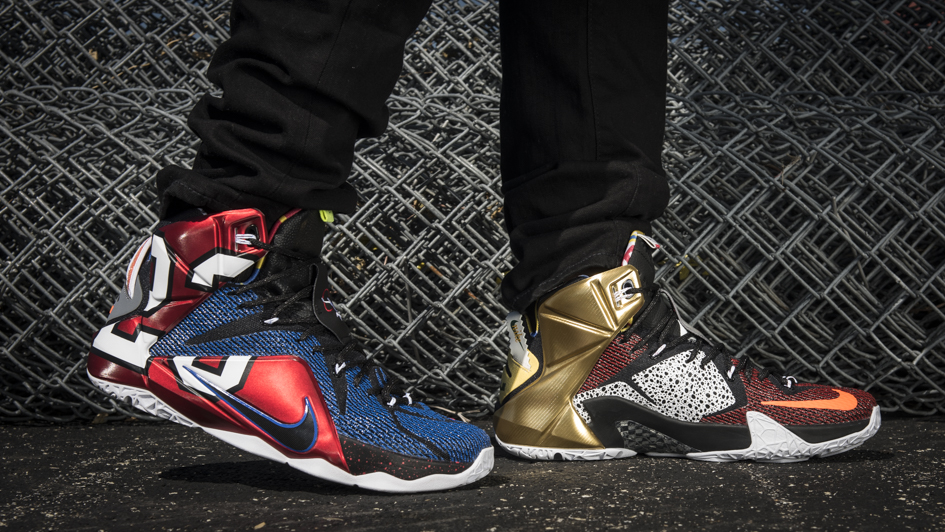 Nike LeBron 12 'What The' 5