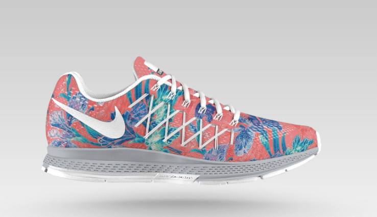 grossiste 6c54f 8a11d Photosynthesis Print on the Nike Air Zoom Pegasus 32 iD ...