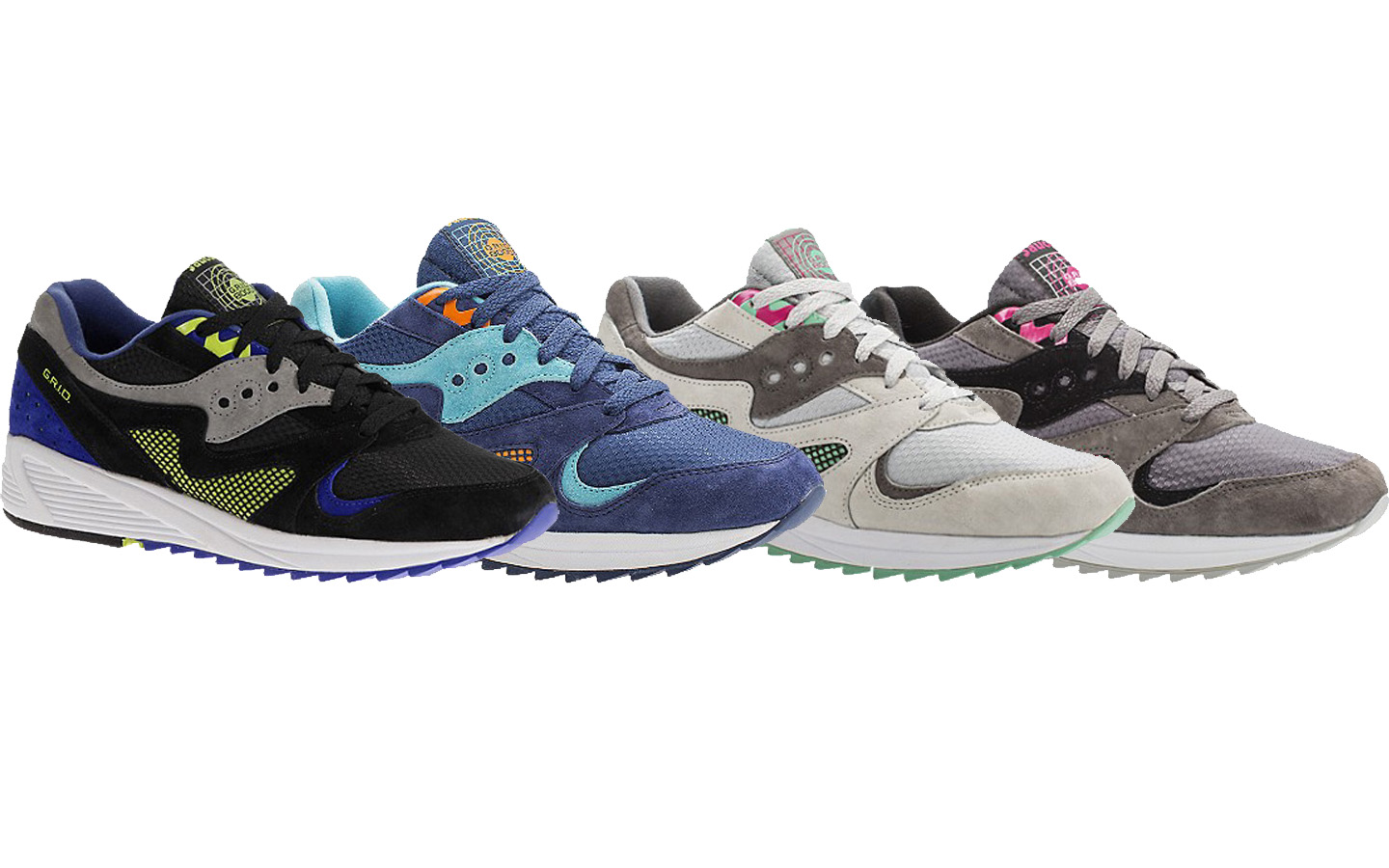 The Saucony GRID 8000 Premium is Available Now is Four Colorways