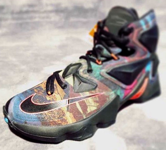 pretty nice d968d 03906 Multiple Colors Make Up This Nike LeBron 13 - WearTesters