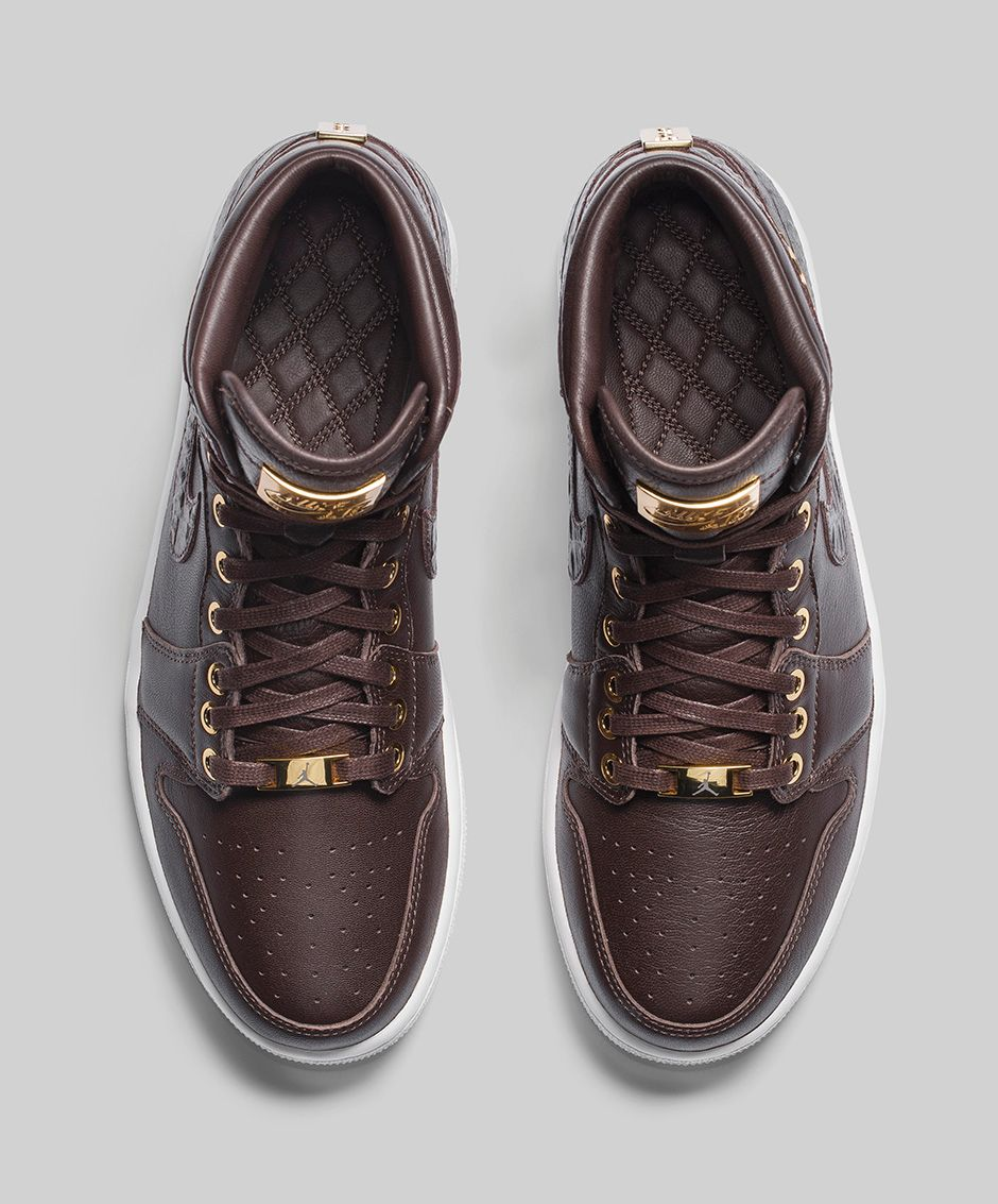 Air Jordan 1 Pinnacle 'Baroque Brown' top view