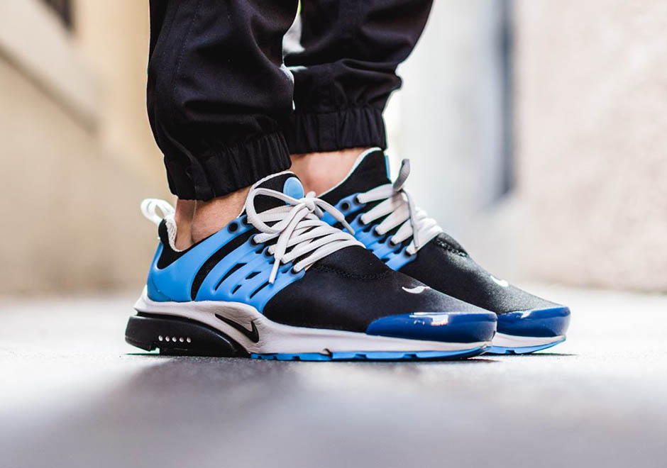 Nike Air Presto OG 'Harbor Blue' on feet
